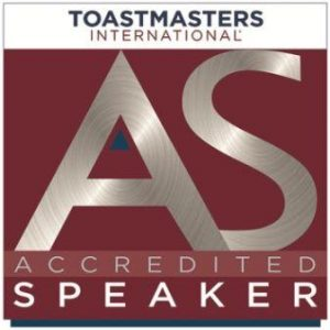 Paul Artale is a Toastmasters International Accredited Speaker