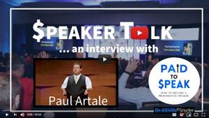 Motivational Speaker, Paul Artale Interviewed by Dr. Kevin Snyder