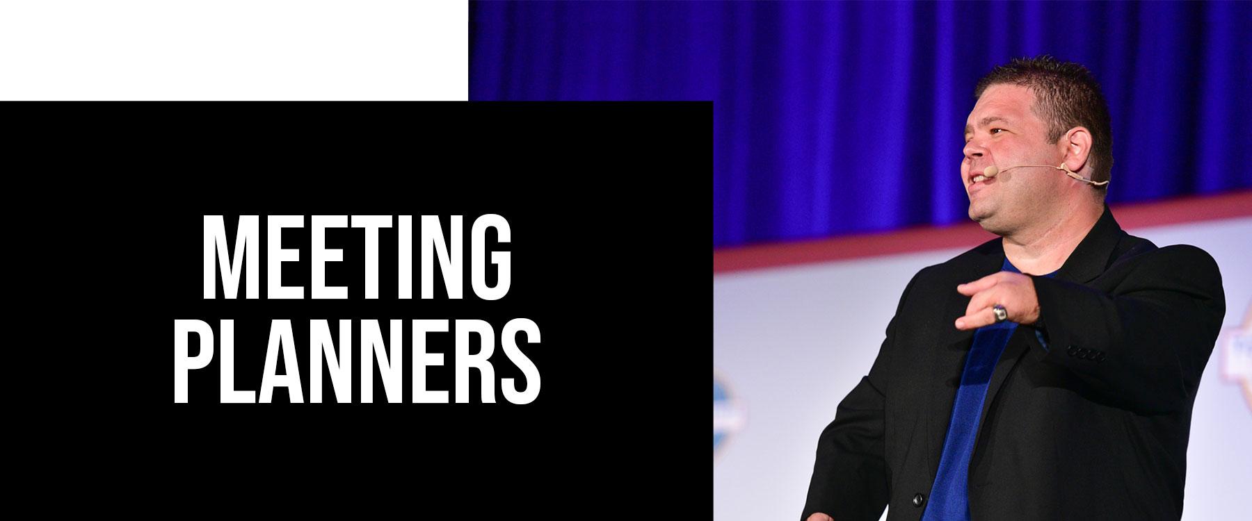 Meeting Planner Tools for Motivational Speaker, Paul Artale